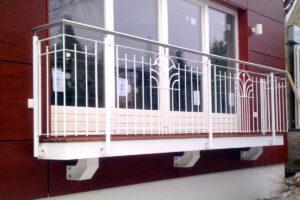 Terrassengeländer für ein Einfamilienhaus