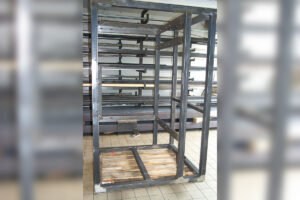 Maschinengestell für Lebensmittelbranche